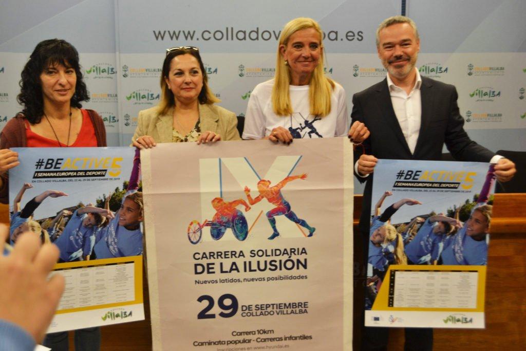 Collado Villalba se suma a la Semana Europea del Deporte
