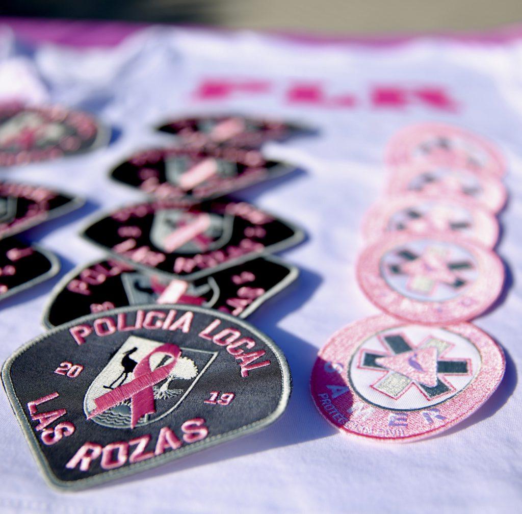 Las Rozas aumenta su apoyo a la campaña internacional #PinkPatchProject sumando a los Servicios de Emergencia