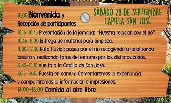 Este sábado 28 de septiembre, Fiesta de la Limpieza del Río Guadarrama en los Molinos