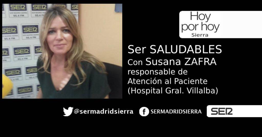 HOY POR HOY. SER SALUDABLES. Satisfechos con el Hospital de Villalba