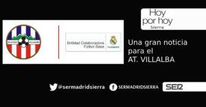HOY POR HOY. El At. Villalba, conveniado con el R. Madrid