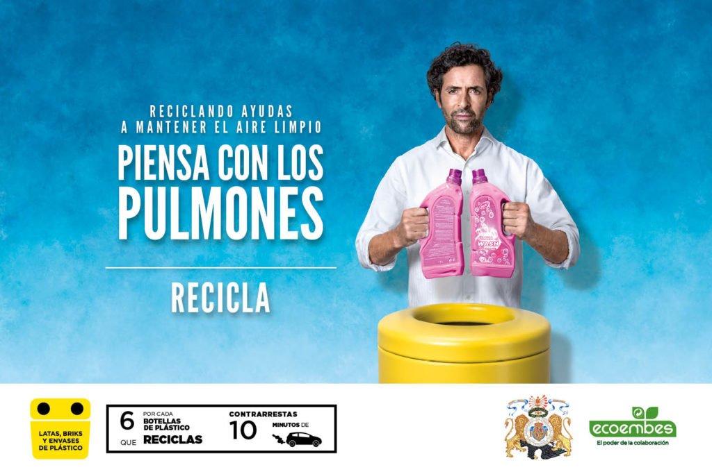 Nueva campaña de reciclaje en El Escorial