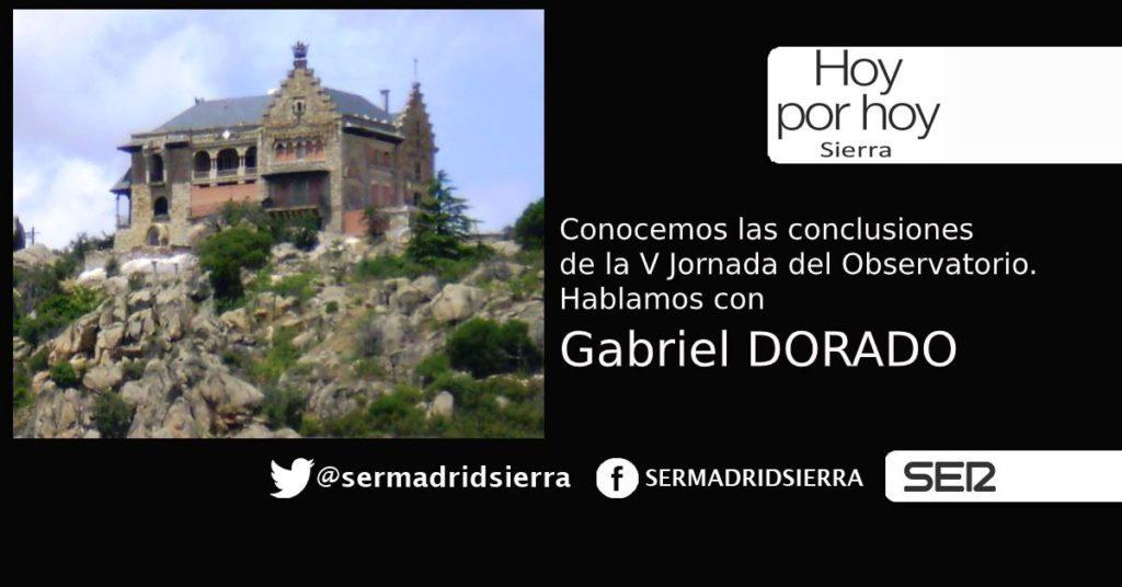 HOY POR HOY. Con Gabriel Dorado, resumimos las conclusiones de la V Jornada del Observatorio