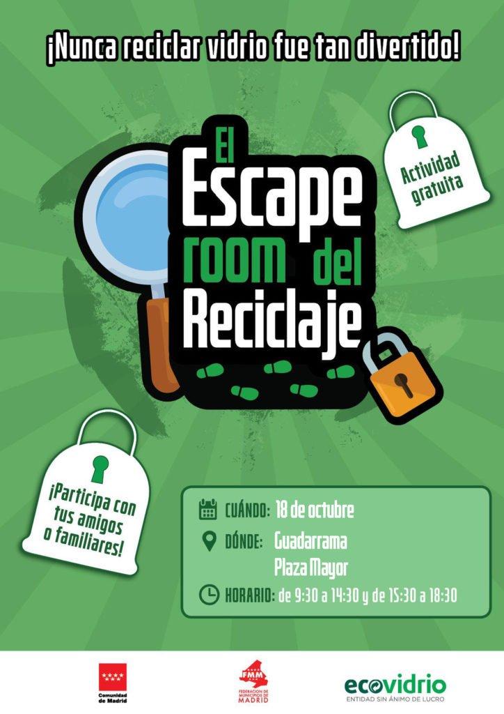 «Escape Room del reciclaje» en Guadarrama