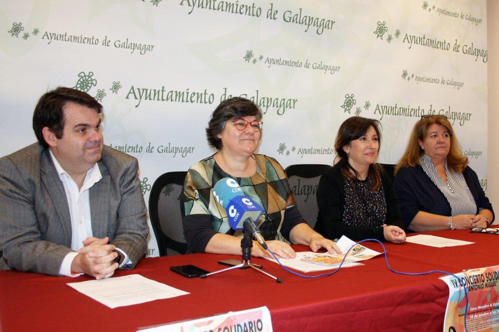 Galapagar acoge un concierto solidario a favor de la Asociación de Esclerosis Múltiple de Collado Villalba
