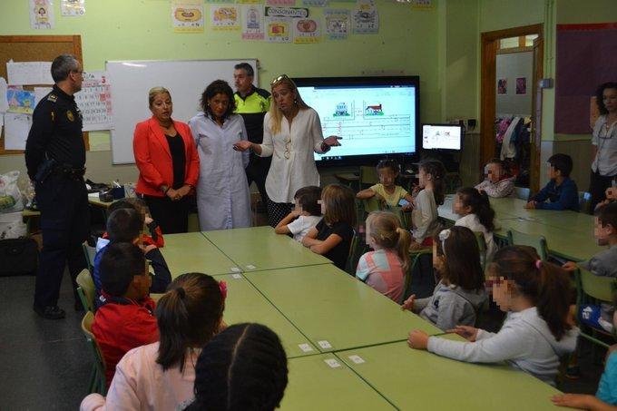 5.000 alumnos de Collado Villalba participan en el Programa de Educación Vial