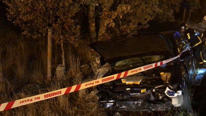 Fallece una mujer en accidente de tráfico en Valdemorillo