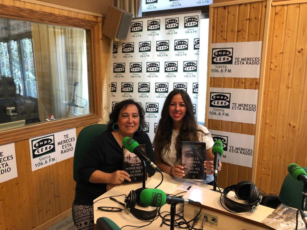 MÁS DE UNO SIERRA – Inés Plana, nos presenta su segunda novela «Antes mueren los que no aman»