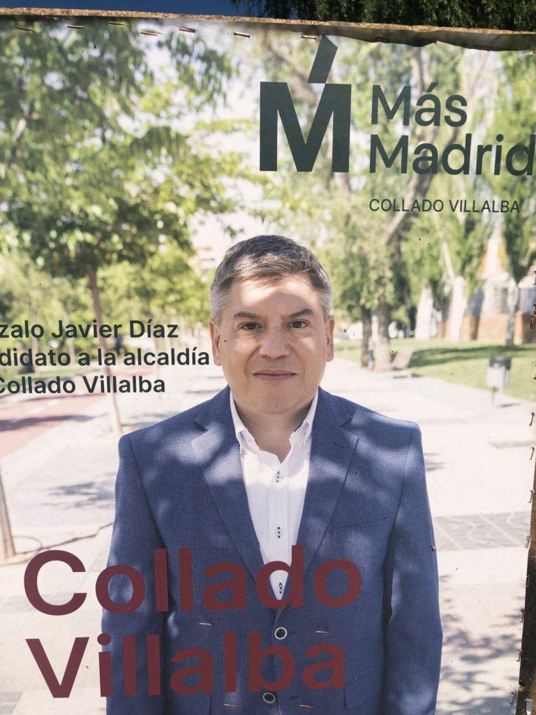 Gonzalo Díaz cesado como asesor del Ayuntamiento Coslada y fuera de las listas al Congreso