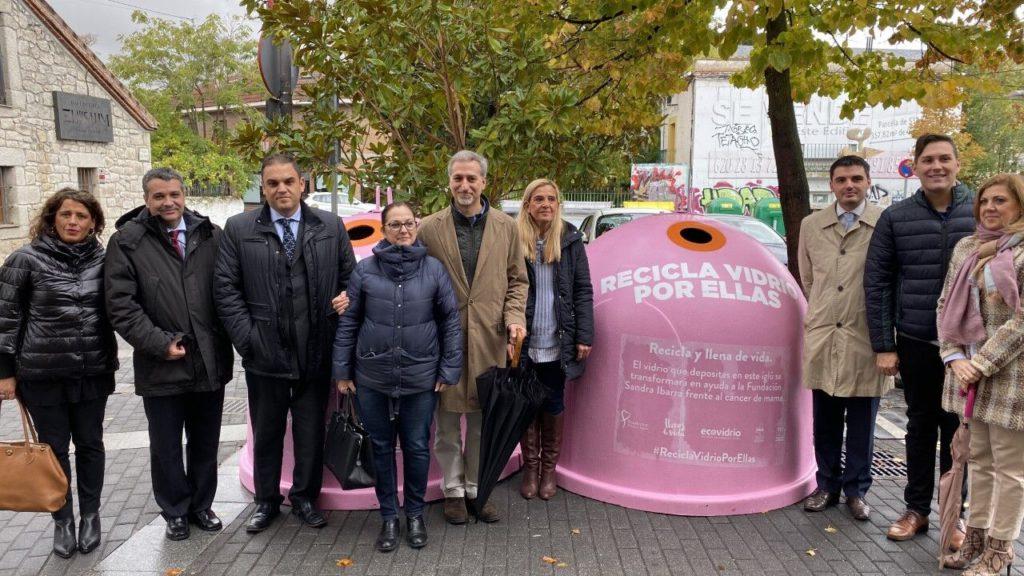 El Ayuntamiento de Collado Villalba se suma a la campaña «Recicla vidrio por ellas»