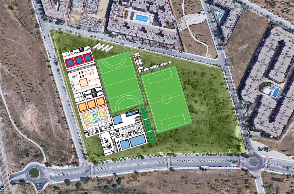 El proyecto definitivo para la nueva zona deportiva y cultural de La Marazuela en Las Rozas ya se está redactando