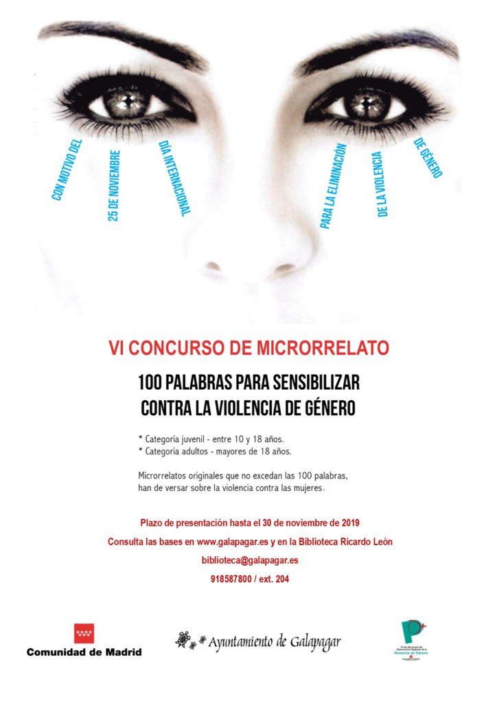 El Ayuntamiento de Galapagar convoca el VI Concurso de Microrrelato