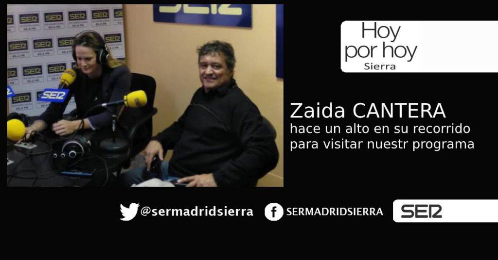 HOY POR HOY. Nos visita Zaida Cantera
