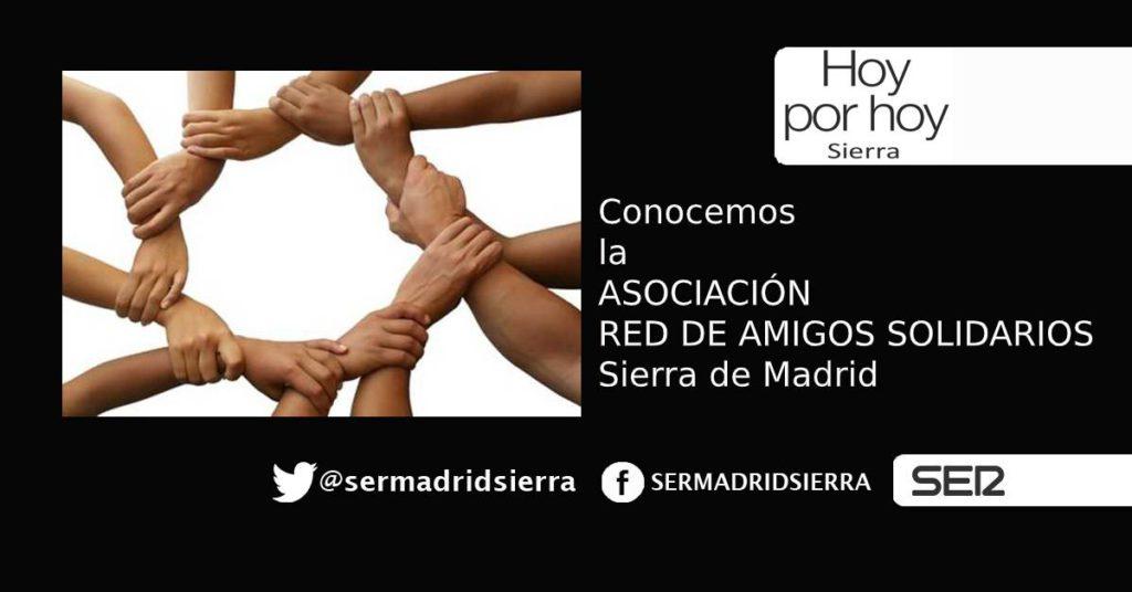 HOY POR HOY. Con la Red de Amigos Solidarios Sierra de Madrid