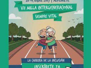 Alpedrete celebra su VII Milla Intergeneracional «Siempre Vital»