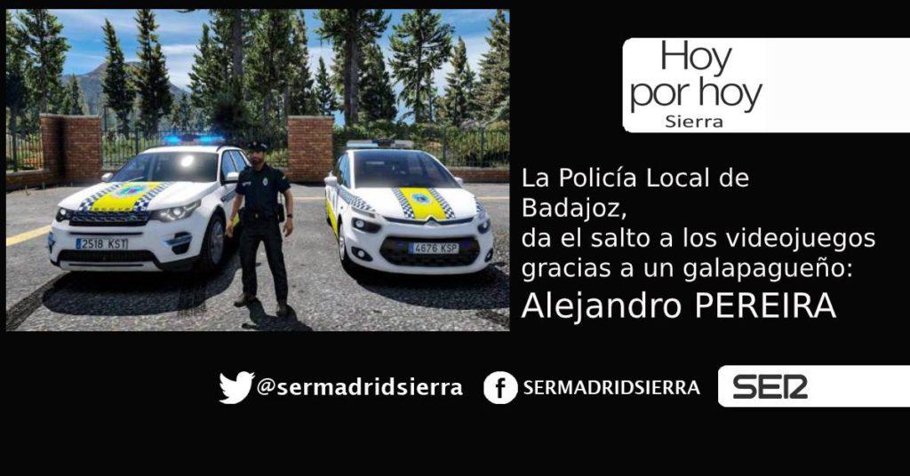 HOY POR HOY. Alex Pereira lleva a la Policía de Badajoz a los videojuegos