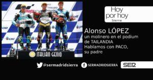 HOY POR HOY. Alonso López, un molinero en el podium de Tailandia