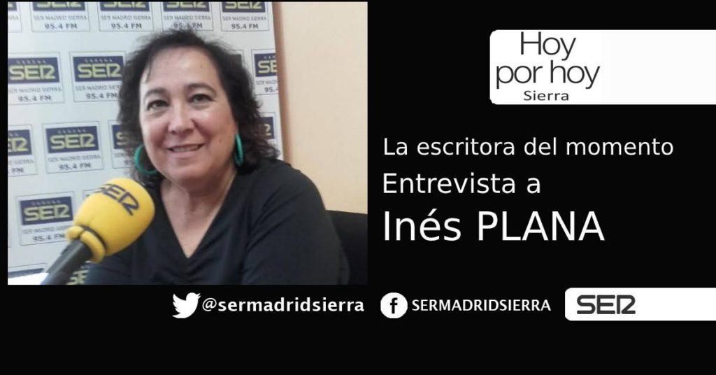 HOY POR HOY. Entrevista a INÉS PLANA, la escritora del momento