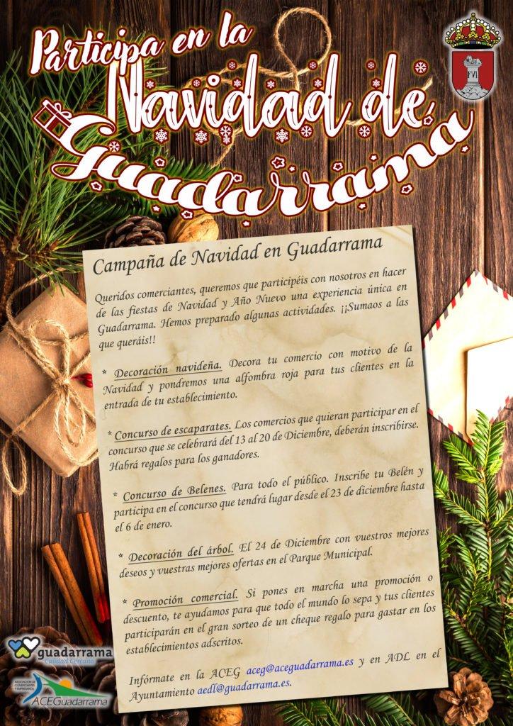 Nueva Campaña Comercial de Navidad en Guadarrama