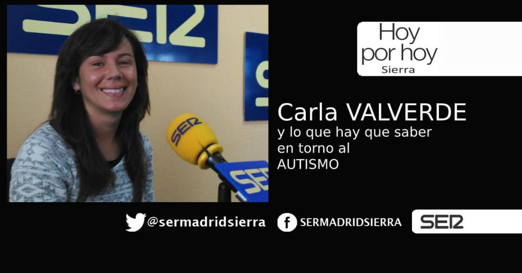 HOY POR HOY. Carla Valverde nos habla del Autismo