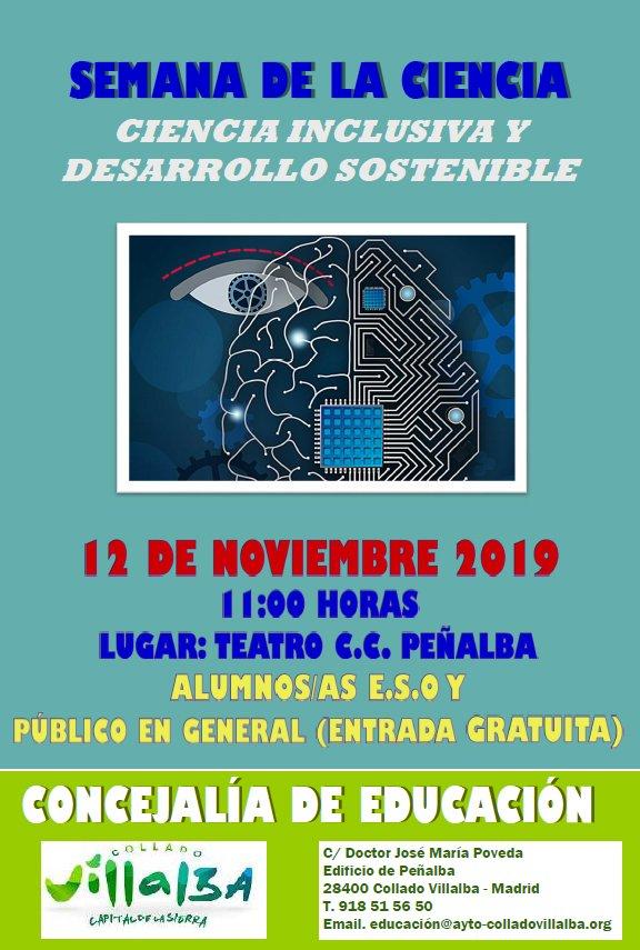 Collado Villalba participa en la Semana de la Ciencia con una mesa redonda sobre Inteligencia Artificial