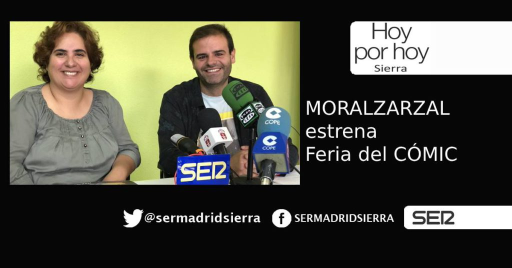 HOY POR HOY. Moralzarzal estrena su I Feria del Cómic