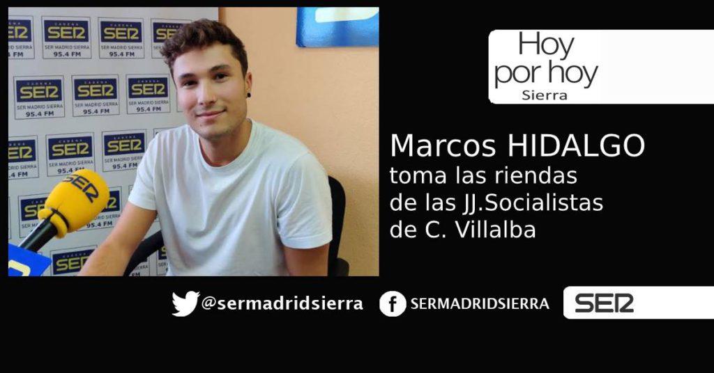 HOY POR HOY. Entrevista a Marcos Hidalgo, JJ.SS de C. Villalba