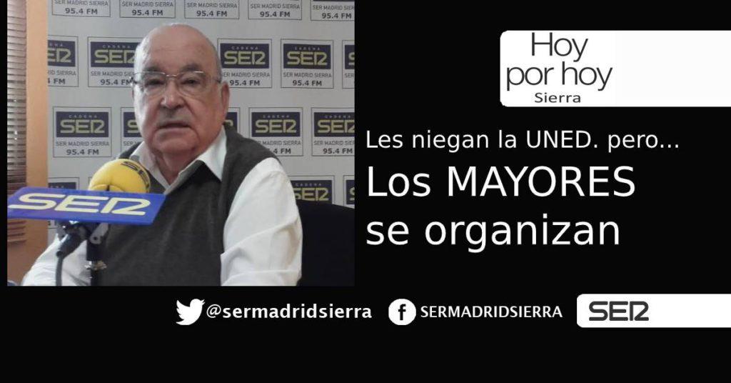 HOY POR HOY. Los Mayores se organizan en Asociación