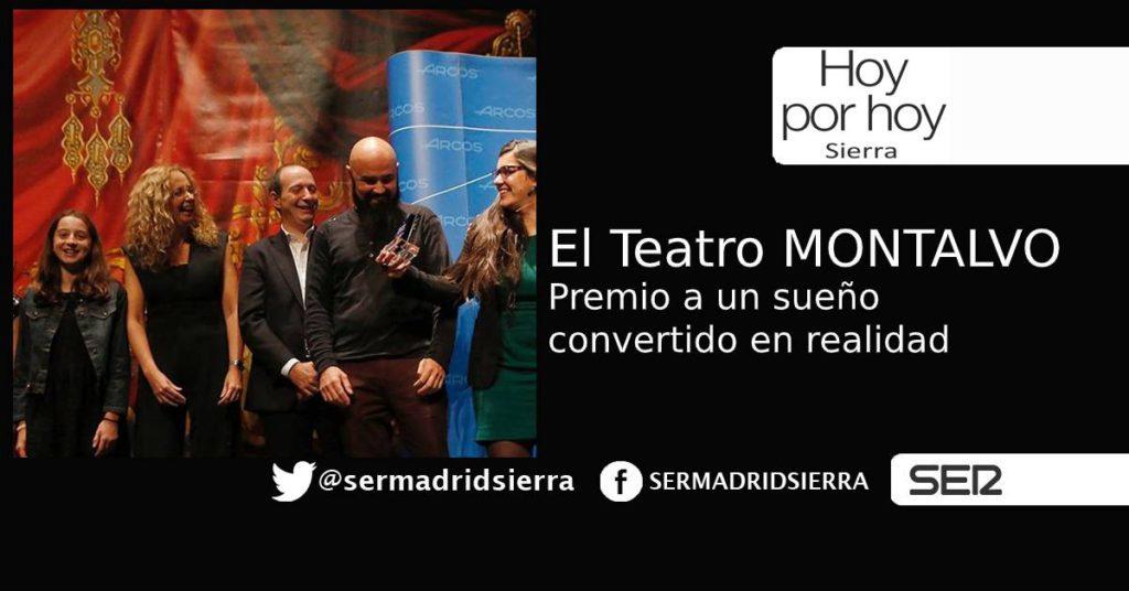 HOY POR HOY. Un premio histórico para el Teatro Montalvo de Cercedilla