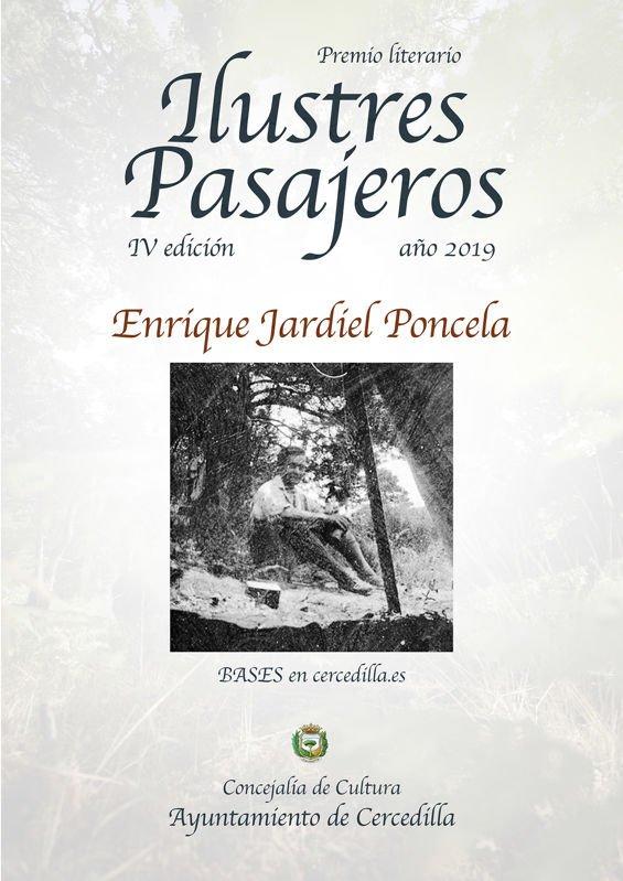 Cercedilla convoca el premio literario IV Ilustres Pasajeros