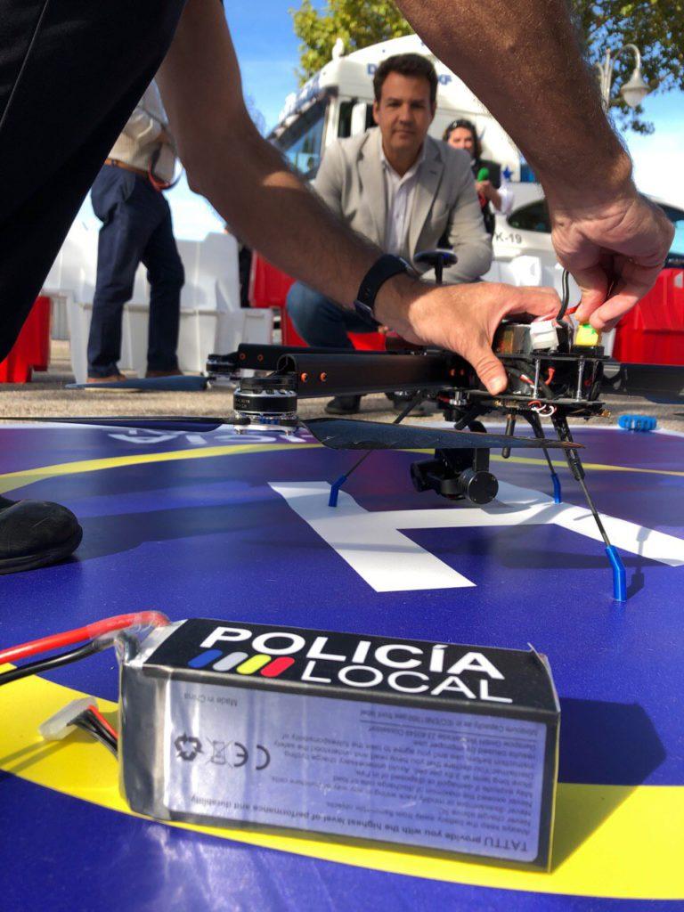 El dispositivo especial de seguridad para el Recinto Ferial de Las Rozas incluirá nuevas medidas y un dron para emergencias