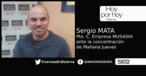 HOY POR HOY. Entrevista a Sergio Mata, presidente del Comité de Empresa de Musashi