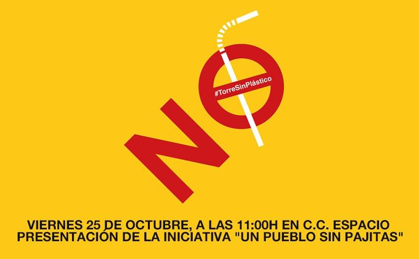 El Ayuntamiento de Torrelodones presenta, este viernes 25, la iniciativa «Un pueblo sin pajitas»