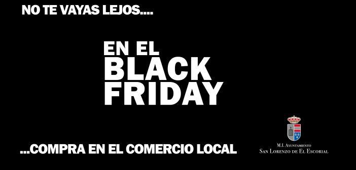 """El """"Black Friday"""" llega con sus promociones y descuentos a San Lorenzo de El Escorial"""