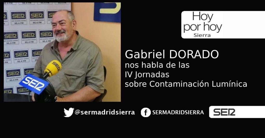 HOY POR HOY. Con Gabriel Dorado, sobre las IV jornadas sobre Contaminación Lumínica