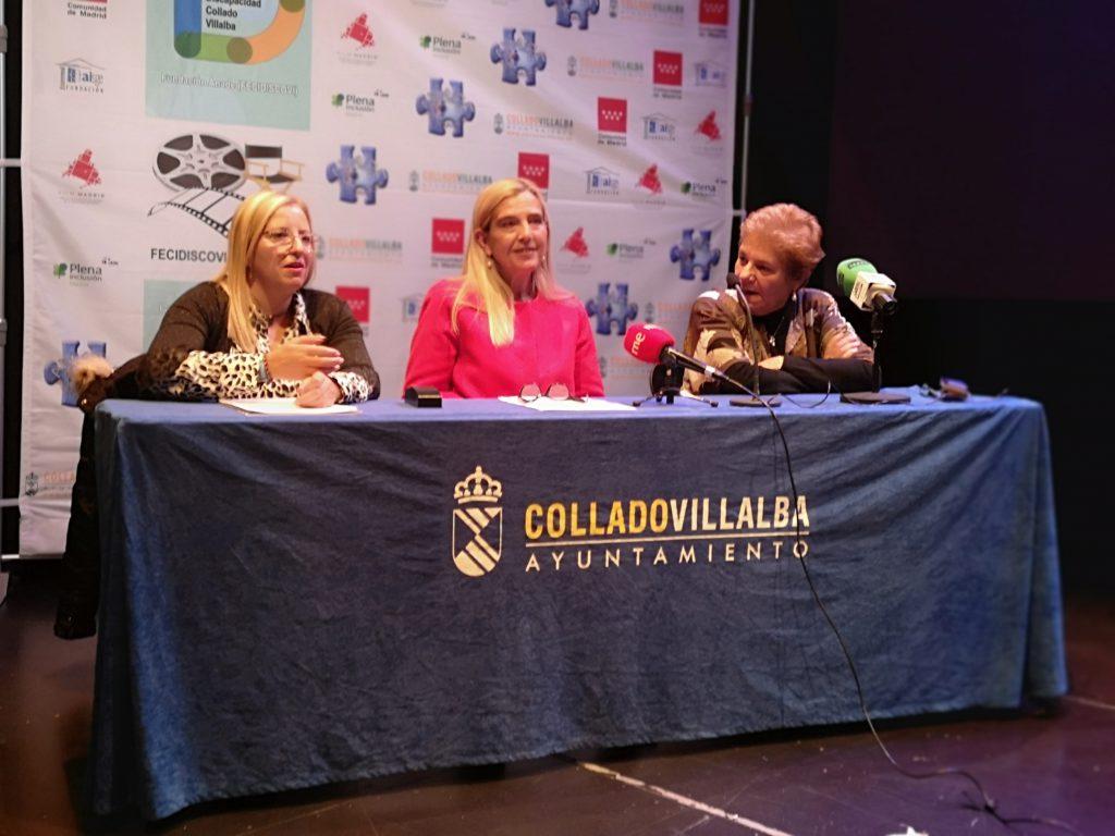 La Fundación ANADE y el Ayuntamiento de Collado Villalba presentan el XII Festival Internacional de Cine sobre Discapaidad