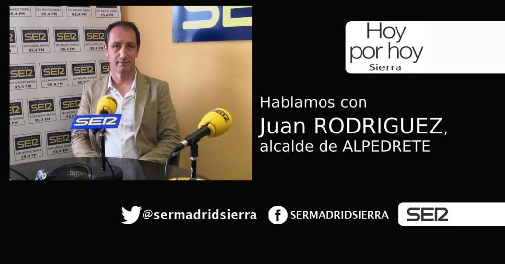 HOY POR HOY. Entrevista con Juan Rodriguez, alcalde de Alpedrete