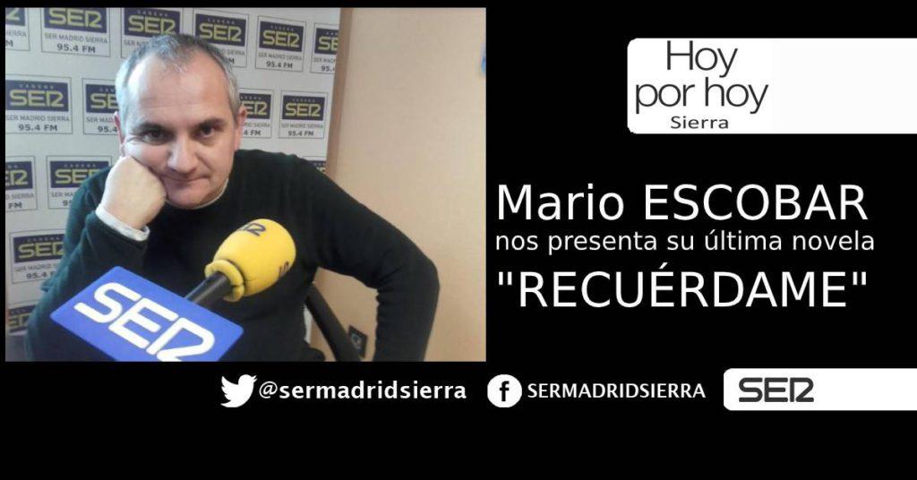 HOY POR HOY. ENTREVISTA CON MARIO ESCOBAR