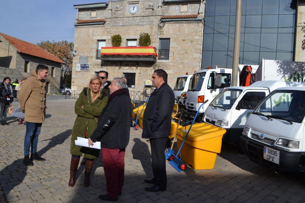 El Ayuntamiento de Collado Villalba presenta el Plan de Inclemencias Invernales 2019-2020