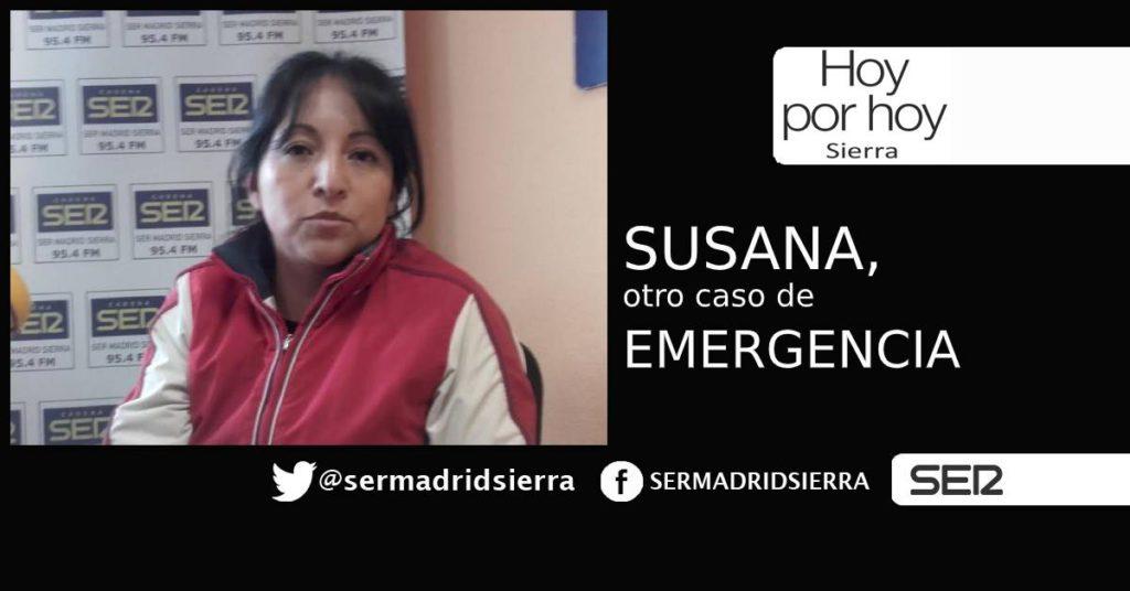 HOY POR HOY. El de Susana es otro caso de Emergencia…