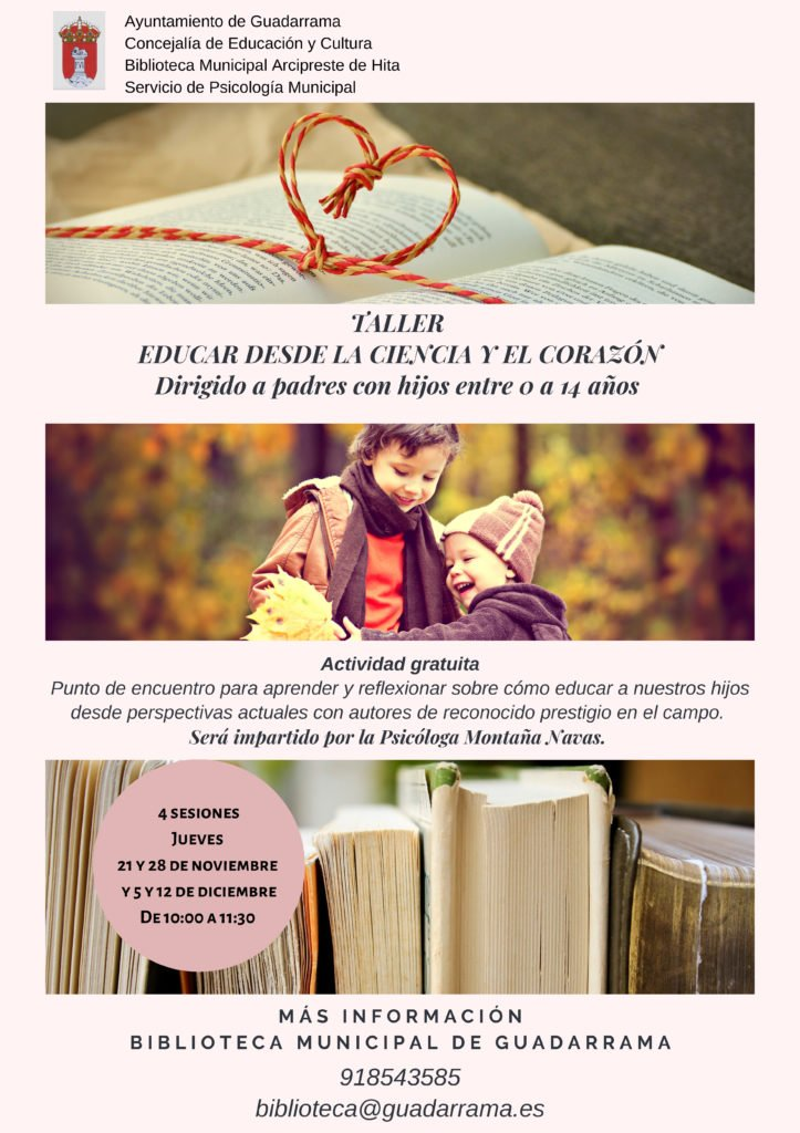 La Biblioteca de Guadarrama pone en marcha un nuevo taller de lectura