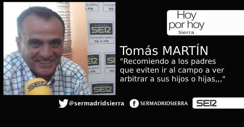 HOY POR HOY. Tomás Martín habla de los problemas de ser árbitro…