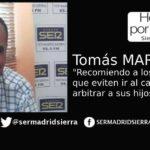 HOY POR HOY. Tomás Martín habla de los problemas de ser árbitro...