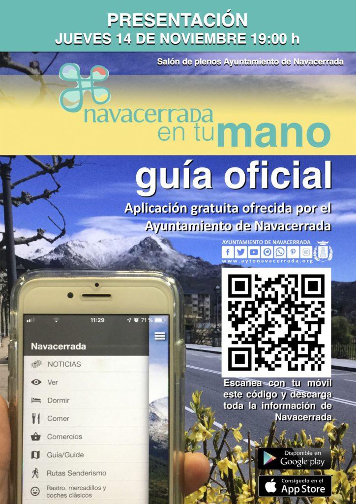 El Ayuntamiento de Navacerrada ofrece una aplicación para informar a la ciudadanía sobre los servicios públicos y privados de la localidad