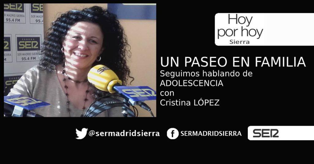 HOY POR HOY. Un paseo en Familia, con Cristina López