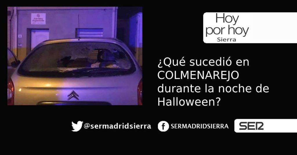 HOY POR HOY. ¿Qué pasó la Noche de Halloween en Colmenarejo?
