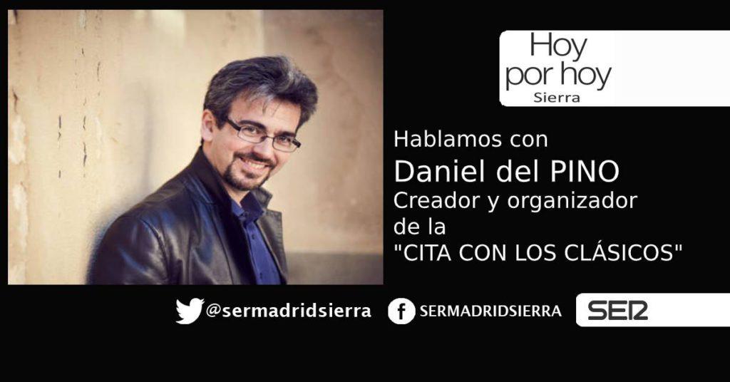 HOY POR HOY.Hablamos con Daniel del Pino tras la supresión de «Cita con los Clásicos»