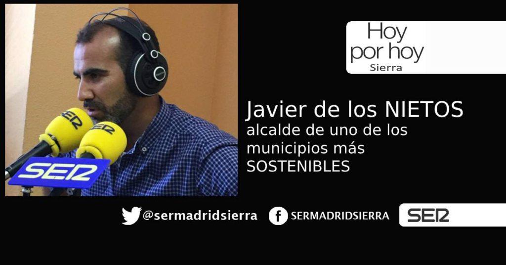HOY POR HOY. Hablamos con Javier delos Nietos, alcalde de uno de los pueblos más sostenibles de España