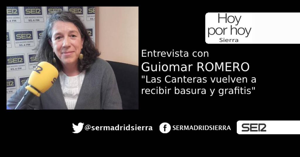 HOY POR HOY. Entrevista con Guimar Romero (Alpedrete Puede)