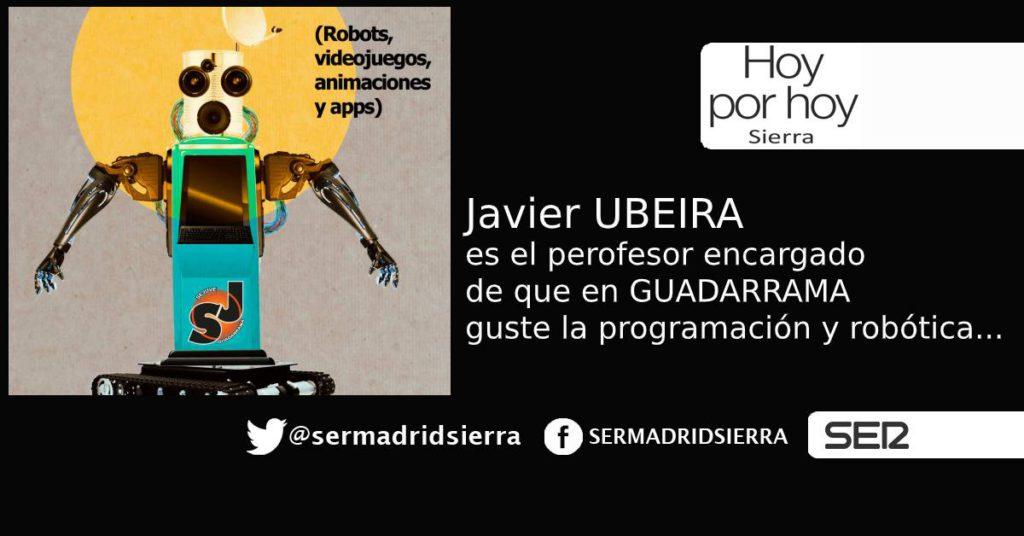 HOY POR HOY. Los jóvenes de Guadarrama se interesan por la robótica